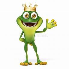 Ausmalbild Frosch Mit Krone Frosch Mit Krone Stock Abbildung Illustration Zeichen