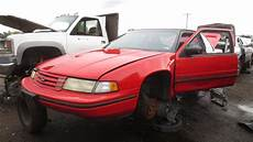 how to learn all about cars 1993 chevrolet g series g20 engine control 1993 chevrolet lumina euro junkyard find