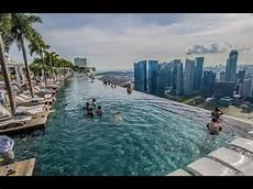 the world s most infinity pool marina bay