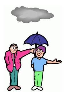 junge mit regenschirm ausmalbild malvorlage gemischt