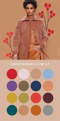 Farbtrends 2017 Mode - farbtrends hw 2017 2018 fashionmakery