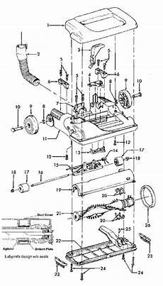Rainbow Vacuum Wire Diagram by Hoover U5437 Vacuum Parts