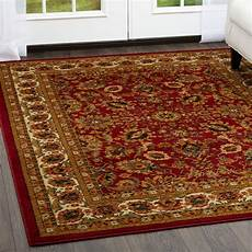 Teppich 3x4 Meter - area rug style floral vines oval