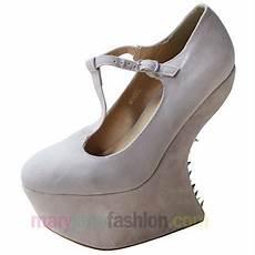 hohe schuhe mit dickem absatz high heels plateau schuhe