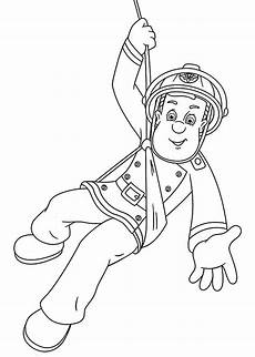 fireman sam is coloring pages for