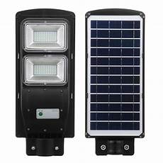 60 solar led street light radar induction pir motion sensor outdoor wall l sale banggood com