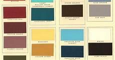 kwal paint color chart historic paints ltd bedrooms pinterest