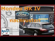 mondeo mk4 convers tacho kombiinstrument einbauen
