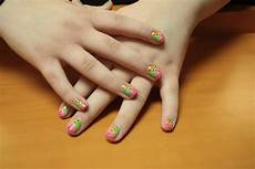nail designs amaziing nail design rainbow for kids easy