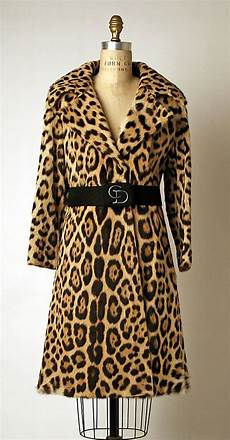 jaguar fur coat 1970s jaguar fur coat quot house of quot metropolitan museum