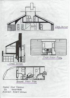 venturi house plan pencil and ruler sj 04 vanna venturi