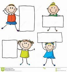 kinder malvorlagen fahnen kinder mit fahnen vektor abbildung illustration