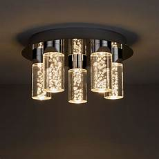 hubble chrome effect 5 l bathroom ceiling light departments tradepoint