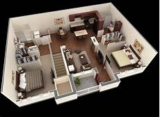 3 ideas for a 2 bedroom home includes floor 50 3d floor plans lay out designs for 2 bedroom house or