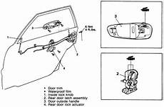 3000gt Spark Diagram Wiring Schematic by Repair Guides Interior Door Handle Latch Assembly
