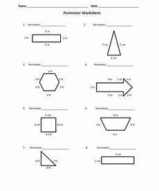 perimeter fun worksheet by learning is lots of fun tpt