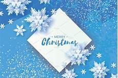white origami snowfall merry christmas greetings card white paper cut snow flake happy new