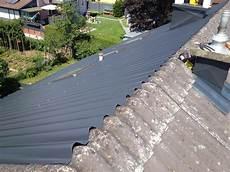 Eternit Dach Sanieren - alu 252 berdeckung f 252 r welleternit dachbeschichtung