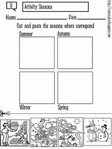 seasons worksheets cut and paste 14760 my world is colorful