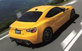 Subaru BRZ TS STI Launched In Japan Tweaked Suspension