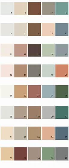 behr house paint colors palette 03