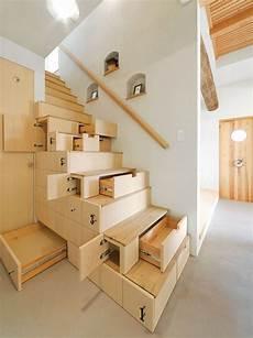 etagere sous escalier space saving stair en 2019 escalier design mobilier de