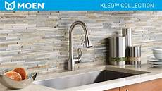 moen kleo kitchen faucet moen kleo single handle pull sprayer kitchen faucet with reflex and power clean in spot