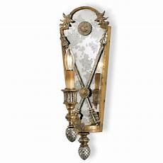 chatham square silver gold wall sconce