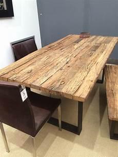 tisch weiß holz esstisch tisch thar 200 x 100cm altholz massiv industrie