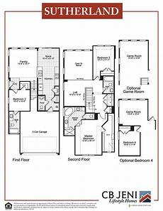 sutherlands house plans sutherland home plan by cb jeni homes in sunset place