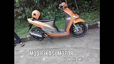 Modifikasi Motor Mio Sporty Simple by Modifikasi Mio Sporty Simple Vlog 01 Quot Modifikasi Mio