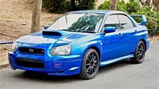 2003 Subaru Wrx Sti 2003 subaru impreza wrx sti canada import japan auction