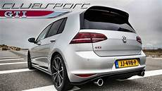 vw golf 7 gti clubsport exhaust sound by autotopnl