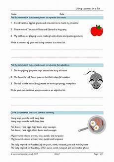 punctuation worksheets y3 20942 ks2 basic punctuation teachit primary