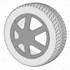 roue de voiture dessin imagem dos desenhos animados do pneu de carro fotografias de stock 169 3drenderings 41611051