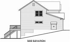 side view house plans house side elevation view for 10012 house plans 2 story