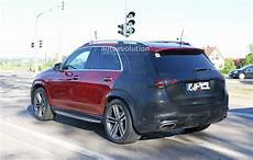 2019 Mercedes Gle Class Shows Uncamouflaged Design Of