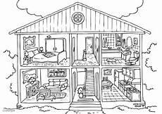Malvorlagen Haus Innen Malvorlage Haus Innen Kostenlose Ausmalbilder Zum