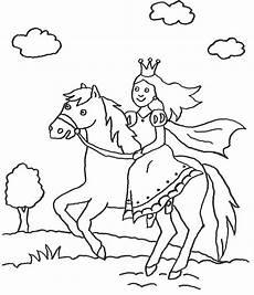 Malvorlage Pferd Kostenlos Ausdrucken Ausmalbild Prinzessin Prinzessin Auf Pferd Kostenlos