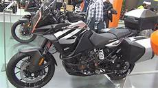 ktm 1290 adventure s silver 2019 exterior and