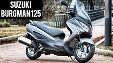 Suzuki Burgman 125 Scooter Look 2016