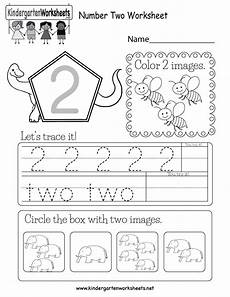 numbers worksheets for kindergarten 18393 free printable number two worksheet for kindergarten