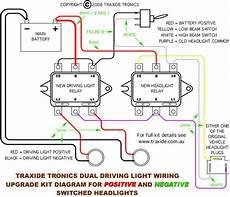 1997 pajero wiring of relay for spotlights exploroz