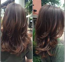 Stufenschnitt Lange Haare Hairstyles Hair Cuts
