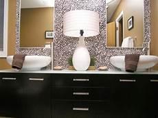 bathroom mirrors ideas with vanity 10 beautiful bathroom mirrors hgtv