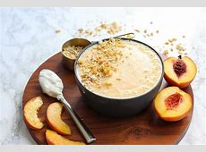 creamy peach cobbler_image