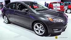 2017 Ford Focus Sedan Titanium Exterior And Interior