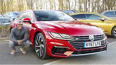 volkswagen arteon r line 2018 volkswagen arteon r line unboxing review
