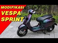 Modifikasi Vespa Matic by Modifikasi Vespa Sprint