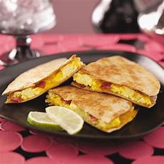 easy breakfast quesadillas recipe taste of home